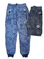 Спортивные штаны с начесом для мальчика оптом, S&D,134-164 рр.,арт.CH-3807