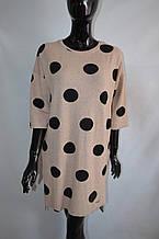 Теплое платье Destello Турция батал. Платья большие размеры destello