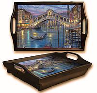 Поднос на подушке Красота Венеции (Comfy Home ТМ)