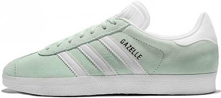 Женские кроссовки Adidas Gazelle Ice Mint BB5473, Адидас Газели, фото 2