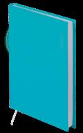 Ежедневник недатированный buromax bm.2022-06 бирюзовый strong a5 на 288 страниц
