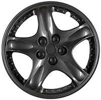 Колпаки колеса декоративные R 13 PLUTON BLACK