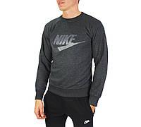 Темно-серый мужской свитшот NIKE