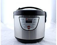 Мультиварка Domotec MS 7722 Хром 5 литров, 8 программ (1000W) с 3d нагревом / рисоварка / скороварка