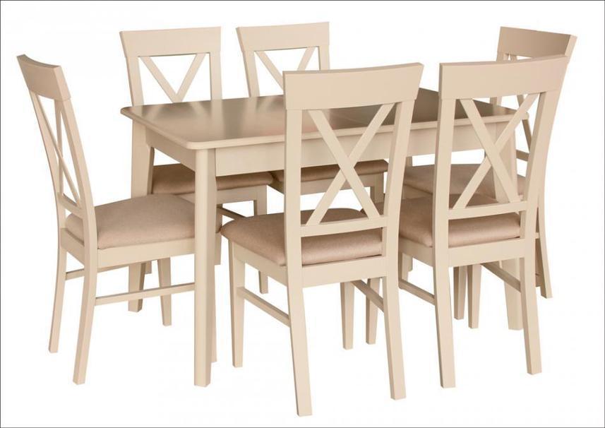 Обеденный стол в скандинавском стиле Лекс Fn (Стол Артур), латте