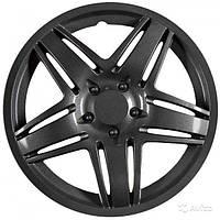 Колпаки колеса декоративные R 14 STAR BLACK
