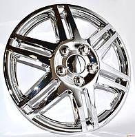 Колпаки колеса декоративные R13 WINJET  WJ-5005-C  хром