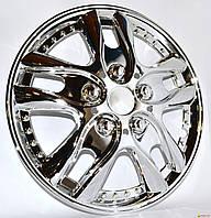 Колпаки колеса декоративные R 13 WINJET  WJ-5001-C   хром