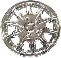 Колпаки колеса декоративные R13 WINJET  WJ-5004-C хром