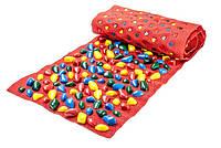 Коврик-дорожка массажный Ортопедс цветными камнями 150*40 смдетский развивающийOnhillsport (MS-1214)