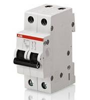 Автоматический выключатель ABB SH202-B 16A 6kA 2P