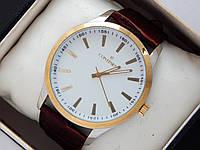 Качественные наручные часы Continent на кожаном ремешке, фото 1
