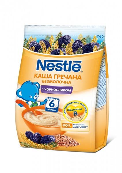 Безмолочная каша Nestle Гречневая с черносливом, 180 г