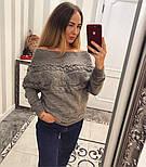 """Женский любимый свитер """"Коса"""" (4 цвета), фото 4"""