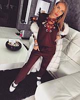 Стильный женский спортивный костюм у-701553