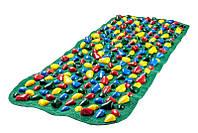 Коврик-дорожка массажный с цветными камнями Ортопед 100*40 смOnhillsport (MS-1215)
