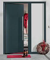 Входные двери Thermo65 Мотив 010 RAL 7016 Sandgrain