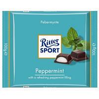 Шоколад Риттер Спорт с мятой Ritter Sport Peppermint , 100 г