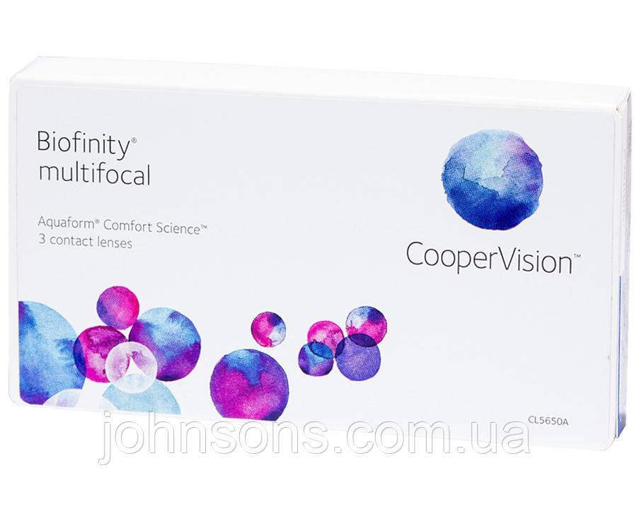 Контактные линзы Biofinity Multifocal 1уп(3шт)