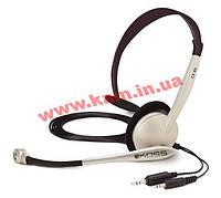 Наушники KOSS с микрофоном кабель 2,5м наушники 30-16000, микрофон 100-16000Гц разъем 2x3,5мм (CS95)