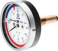 Термоманометр М.8-ТМ осевой штуцер