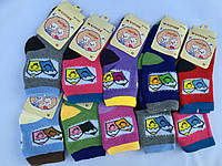Махровые носки на девочку S-L Бамбук  «Корона»