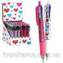 Ручки - автомат SCHREIBER S-2868 4 цвета, фото 2