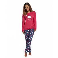 Хлопковая пижама 683 Sleep well от Cornette (Польша) Европейское качество!