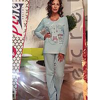 Хлопковая пижама для девушек и женщин