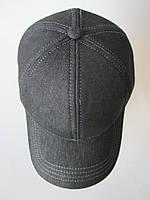 Джинсові кепки чорного кольору., фото 1