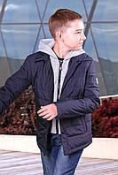 Куртка детская темно-синяя(мальчик), фото 1