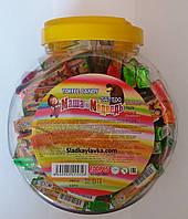 Жевательная конфета Маша и Медведь Toffee Candy Tattoo 100 шт (Prestige)