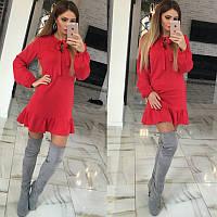 Молодежное платье красное. Опт 195, розн 260