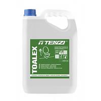 Средство для мытья и дезинфекции санитарного оборудования 5 л Toalex TENZI