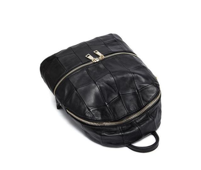45cfbf583353 Рюкзак женский стильный из натуральной кожи Ipinee (черный), цена 1 ...