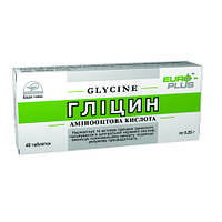 Глицин (Евро Плюс) 40 табл.