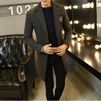 Мужское пальто. Модель 61566, фото 2
