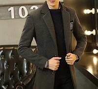Мужское пальто. Модель 61566, фото 4