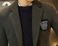 Мужское пальто. Модель 61566, фото 5