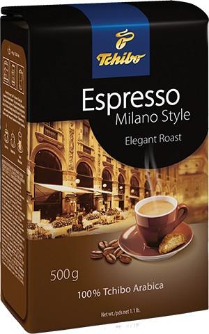Кава мелена Tchibo Milano Style Espresso 250 г.