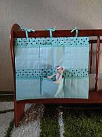 Карманы на детскую кроватку