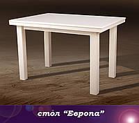 """Стол раскладной """"Европа"""" 120 см -слоновая кость"""