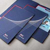 Фирменные папки с логотипом — положительный имидж компании