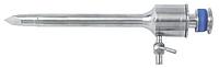 Троакар с силиконовым клапаном и пирамидальным стилетом