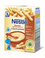 Молочная каша Nestle Пшеничная с печеньем, 250 г