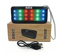 Портативная безпроводная колонка WJ-Q8 led, подсветка, колонки с блютузом, функция bluetooth