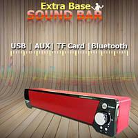 Портативная bluetooth колонка Sound Bar S205, FM-радио, TF-карты, AUX, безпроводные колонки, радиоколонки