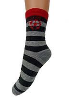 Махровые носки в полоску для мальчиков