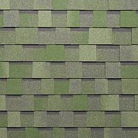 Двухслойная битумная черепица Тегола Мастер / Tegola Master зеленый камень
