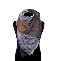 Стильный шарф-палантин bruno rossi brown